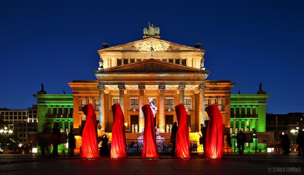 Berlin - Gendarmenmarkt - Festival of Lights