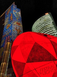 Berlin - Potsdamer Platz - Festival of Lights